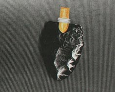 Arrowhead Pendant, Reproduction of Original Arrowhead for Local Archaeologist Dean